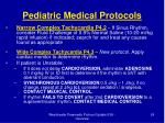 pediatric medical protocols24