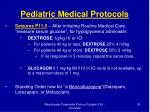 pediatric medical protocols30