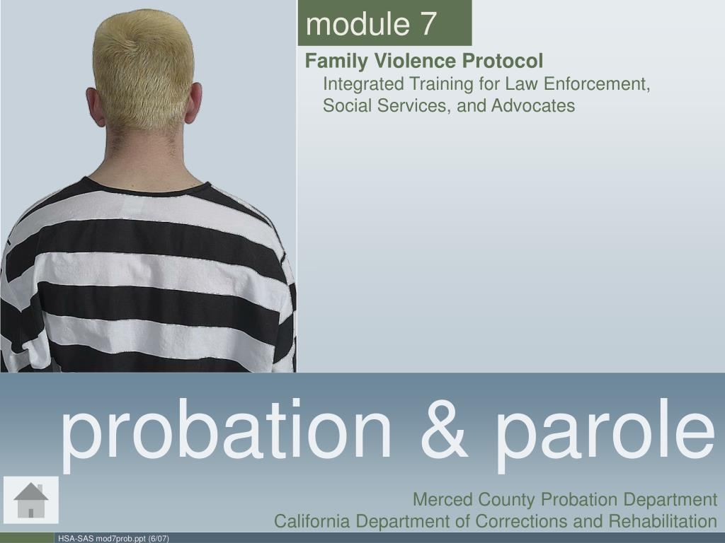 technological advancements inprobation and parole Probation and parole agents use evidence based-practices to enhance public safety by addressing their offender's most influential criminogenic needs to lower their level of recidivism and assist them in building skills needed to be successful in the community.