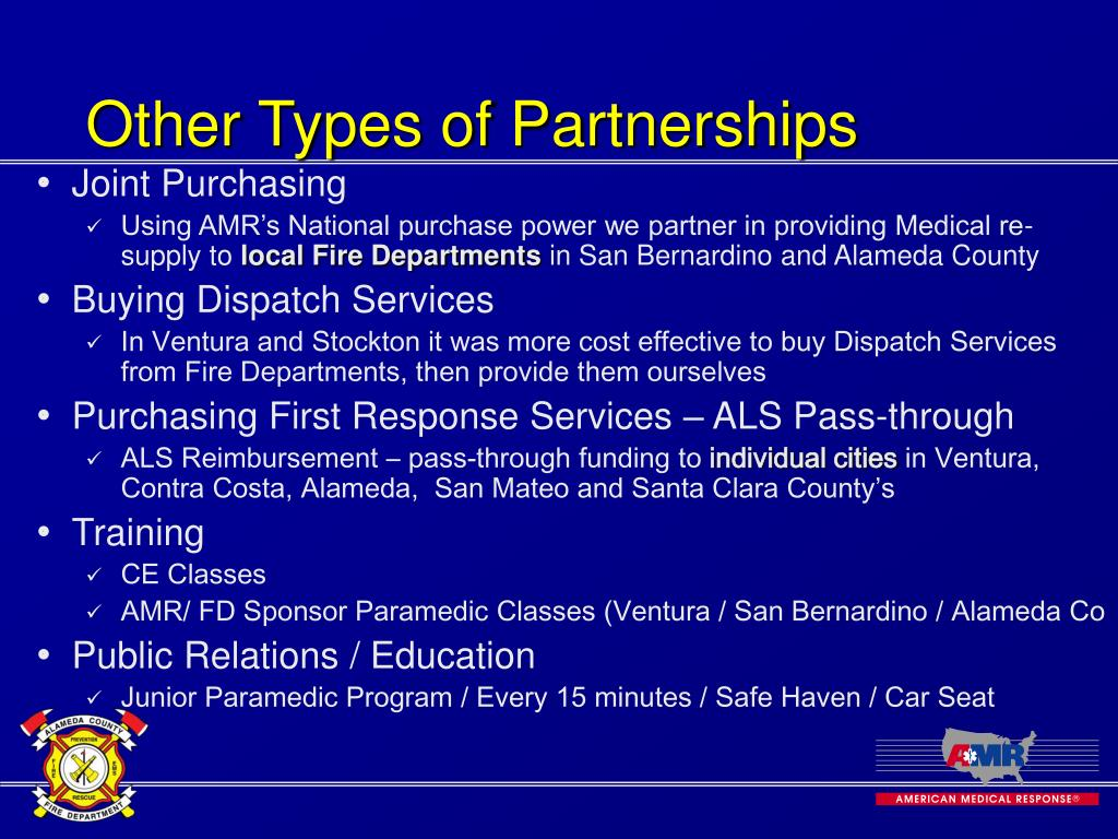 Other Types of Partnerships