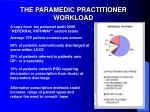 the paramedic practitioner workload