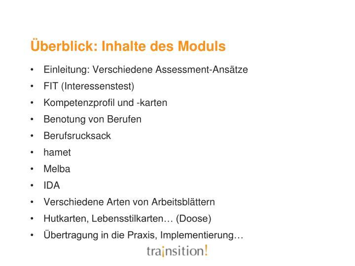 PPT - Beurteilung ( Assessment) von Fähigkeiten Modul 5 PowerPoint ...