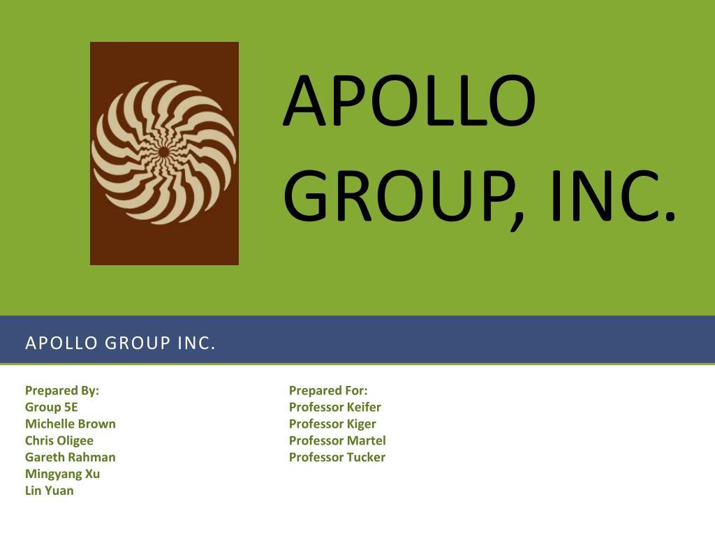 apollo group inc