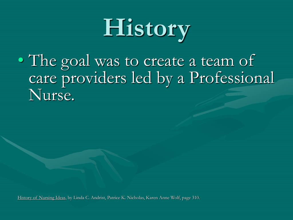 history and development of nursing in