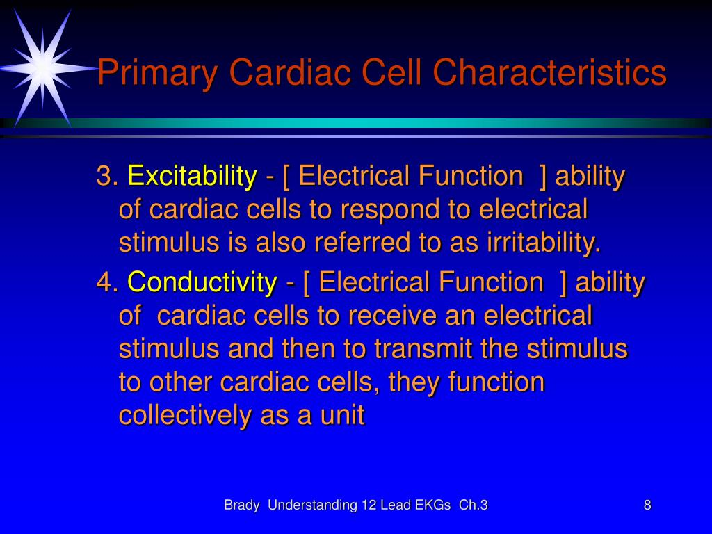 Primary Cardiac Cell Characteristics