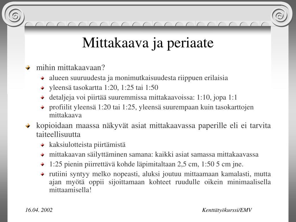 1:50 Mittakaava