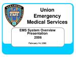 ems system overview presentation 2006 february 14 2006