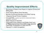 quality improvement efforts