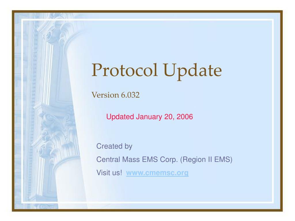 protocol update l.