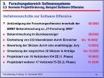 3 forschungsbereich softwaresysteme 3 3 normale projektf rderung beispiel software offensive