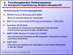 3 forschungsbereich softwaresysteme 3 4 strategische projektf rderung beispiel leitprojekte mti23