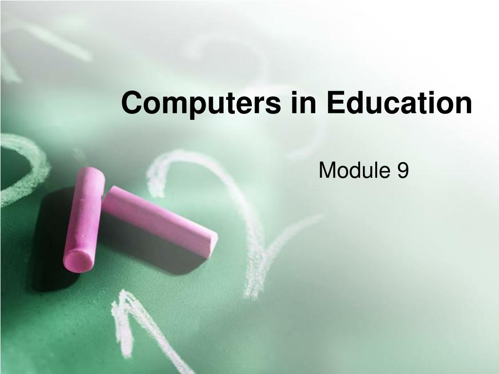 computers in education l.
