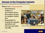 careers in the computer industry4