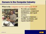 careers in the computer industry7