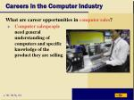 careers in the computer industry8