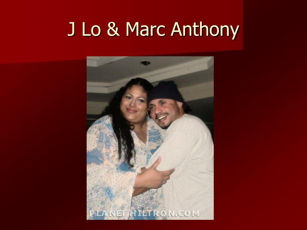 J Lo & Marc Anthony