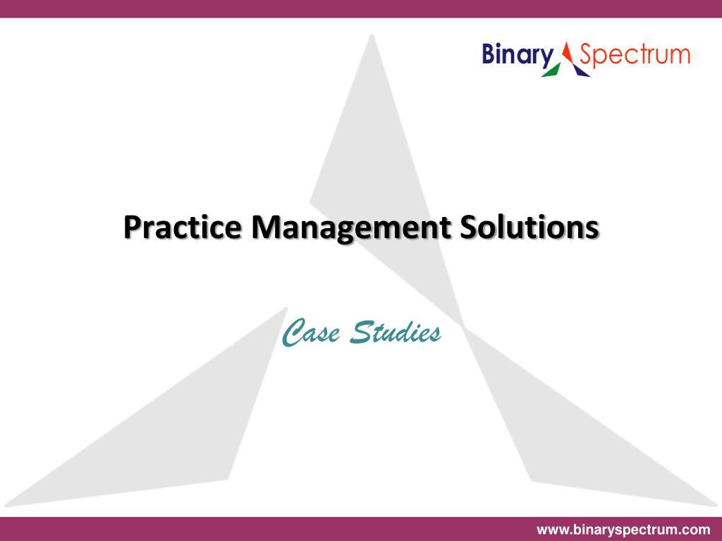 practice management solutions l.