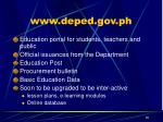 www deped gov ph