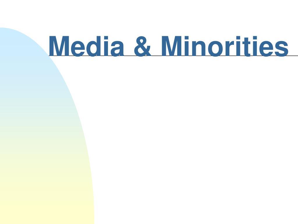 media minorities l.