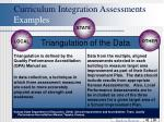 curriculum integration assessments examples54