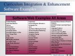 curriculum integration enhancement software examples42