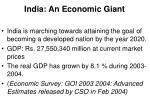 india an economic giant