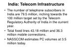 india telecom infrastructure