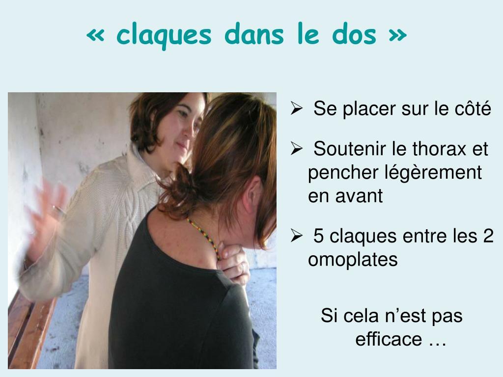 Ppt pour une meilleure sant prenez les bonnes postures powerpoint presentation id 451577 - Coup de poing dans le dos ...