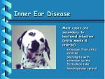 inner ear disease38