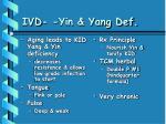 ivd yin yang def