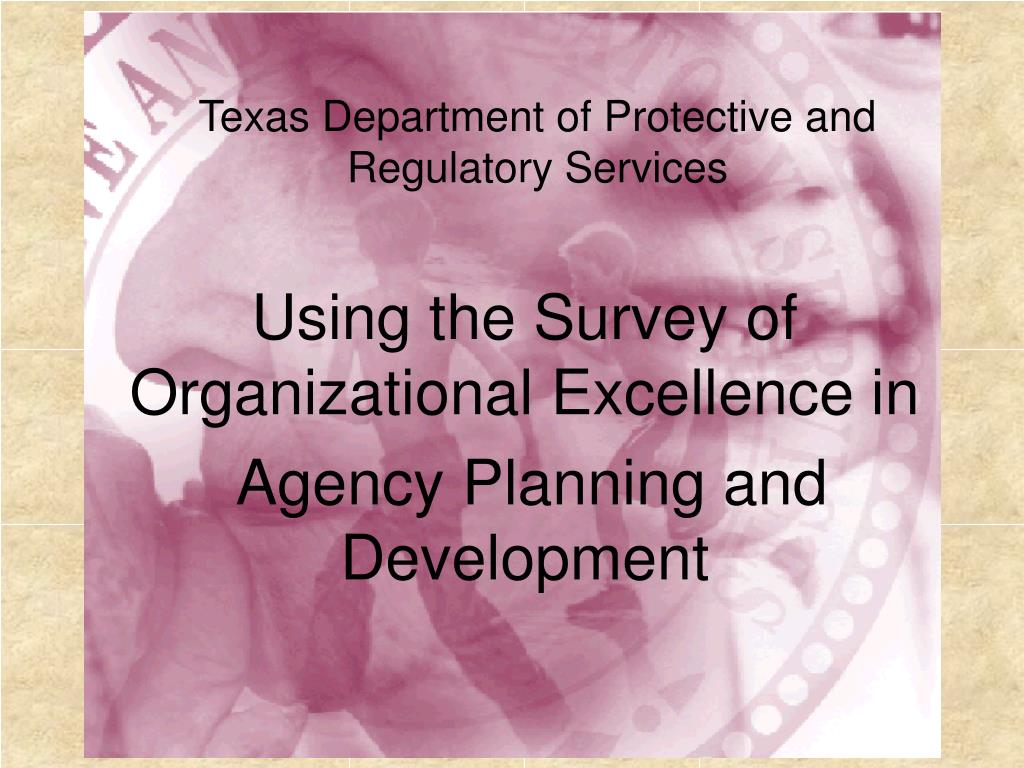 Texas Department of Protective and Regulatory Services