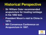 historical perspective8