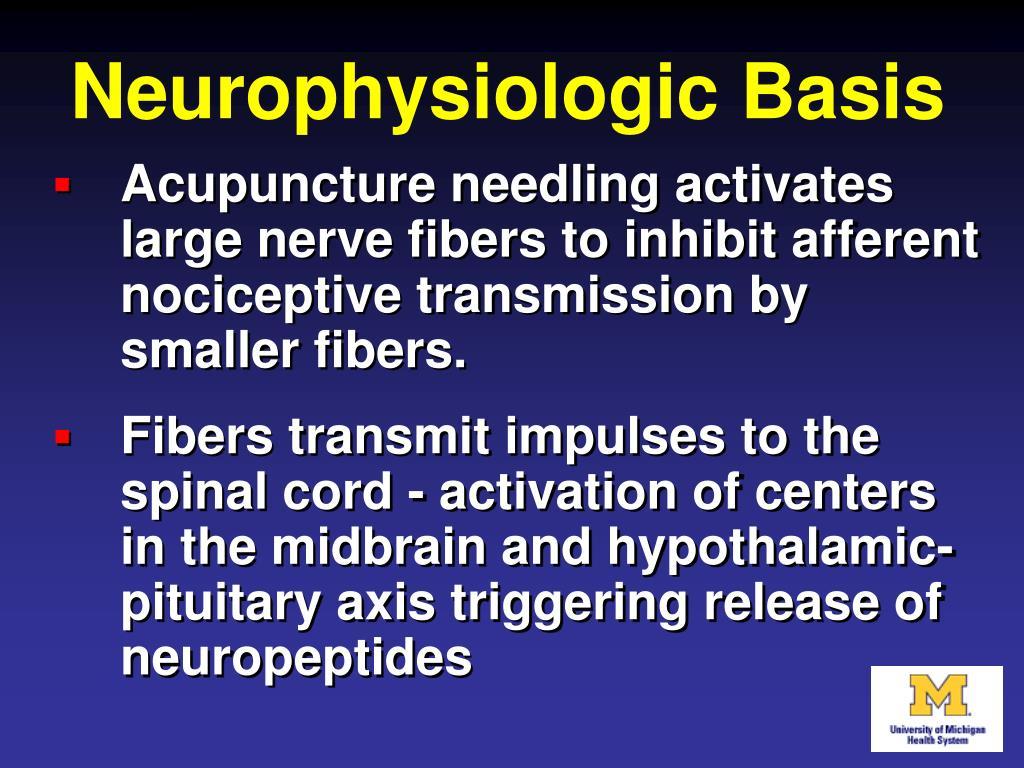 Neurophysiologic Basis