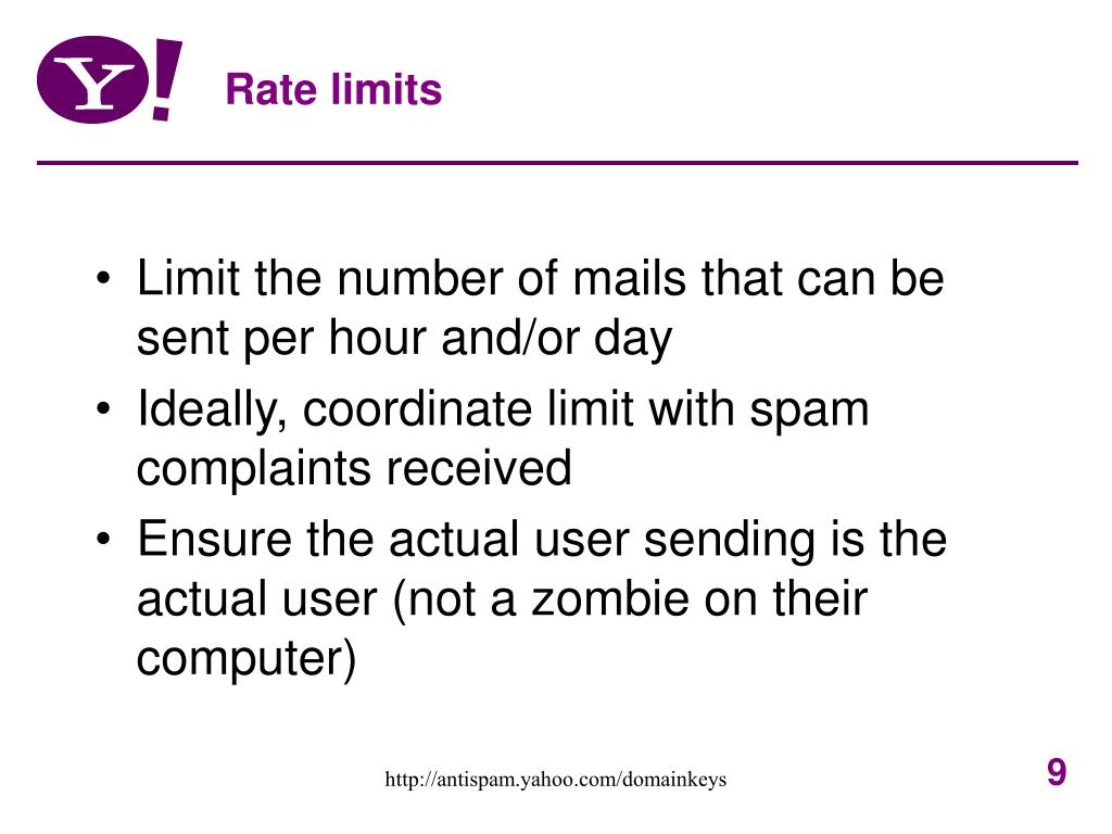 Rate limits