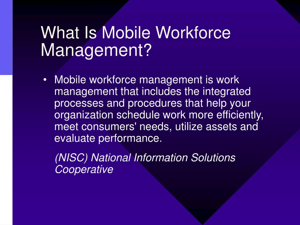 What Is Mobile Workforce