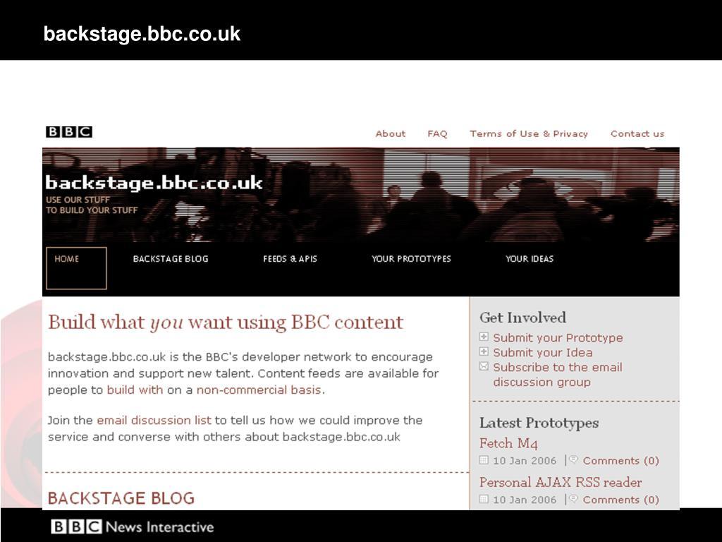 backstage.bbc.co.uk