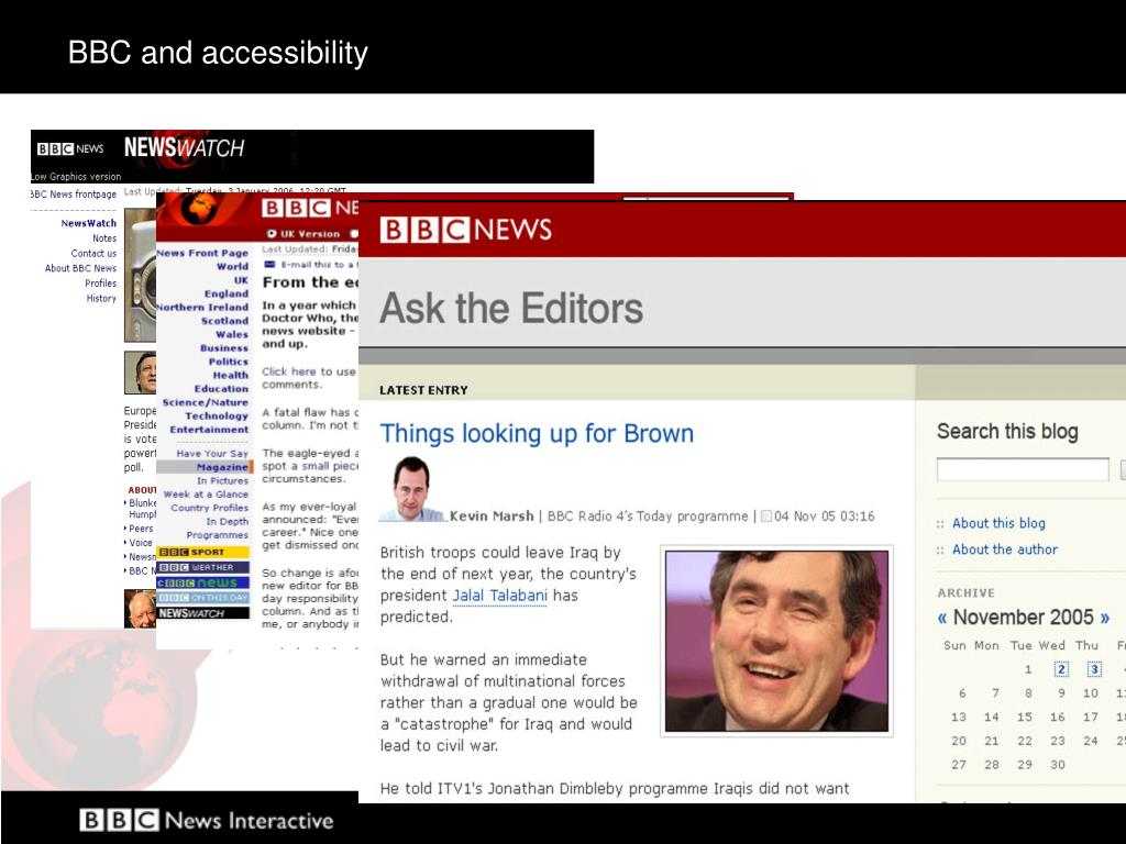 BBC and accessibility
