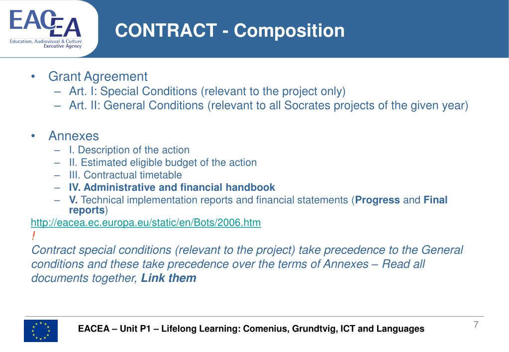 CONTRACT - Composition