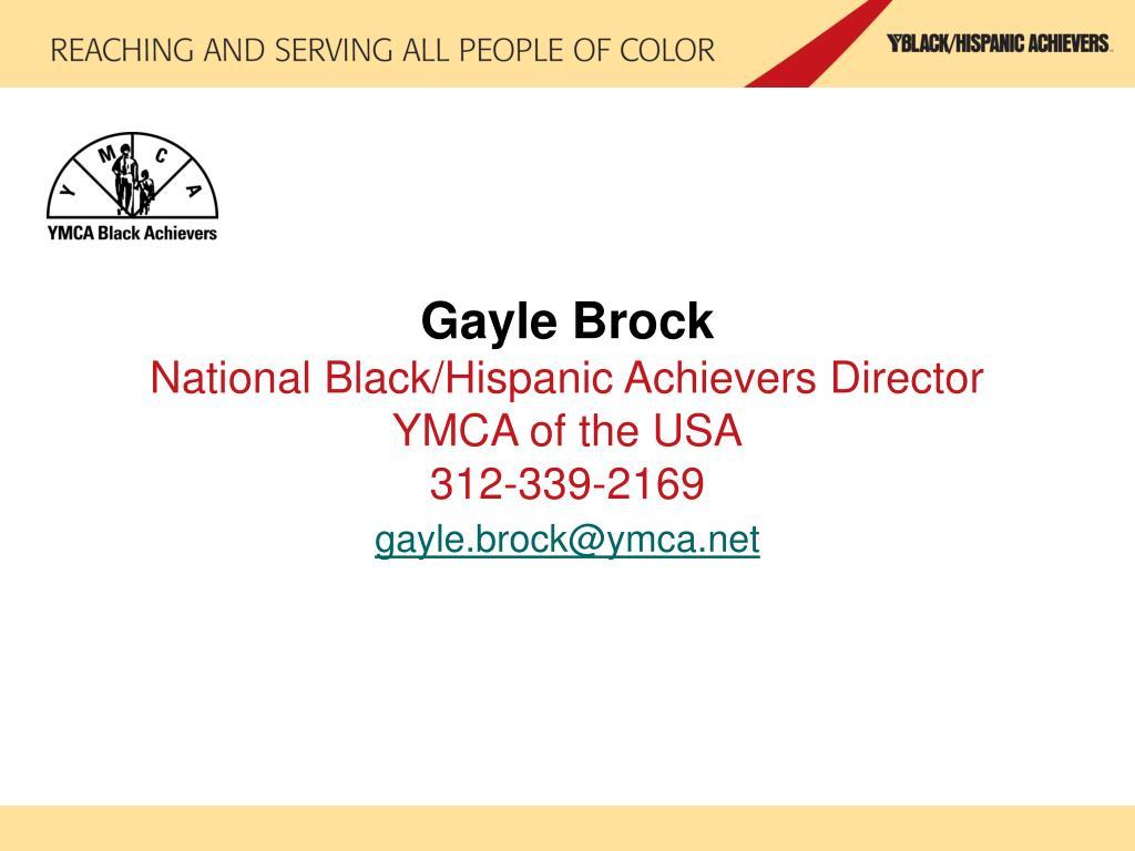 Gayle Brock