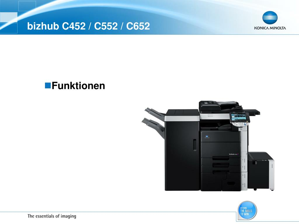 bizhub C452 / C552 / C652