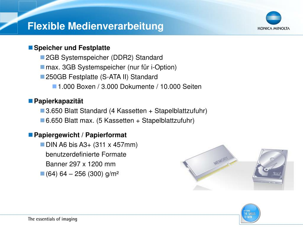 Flexible Medienverarbeitung