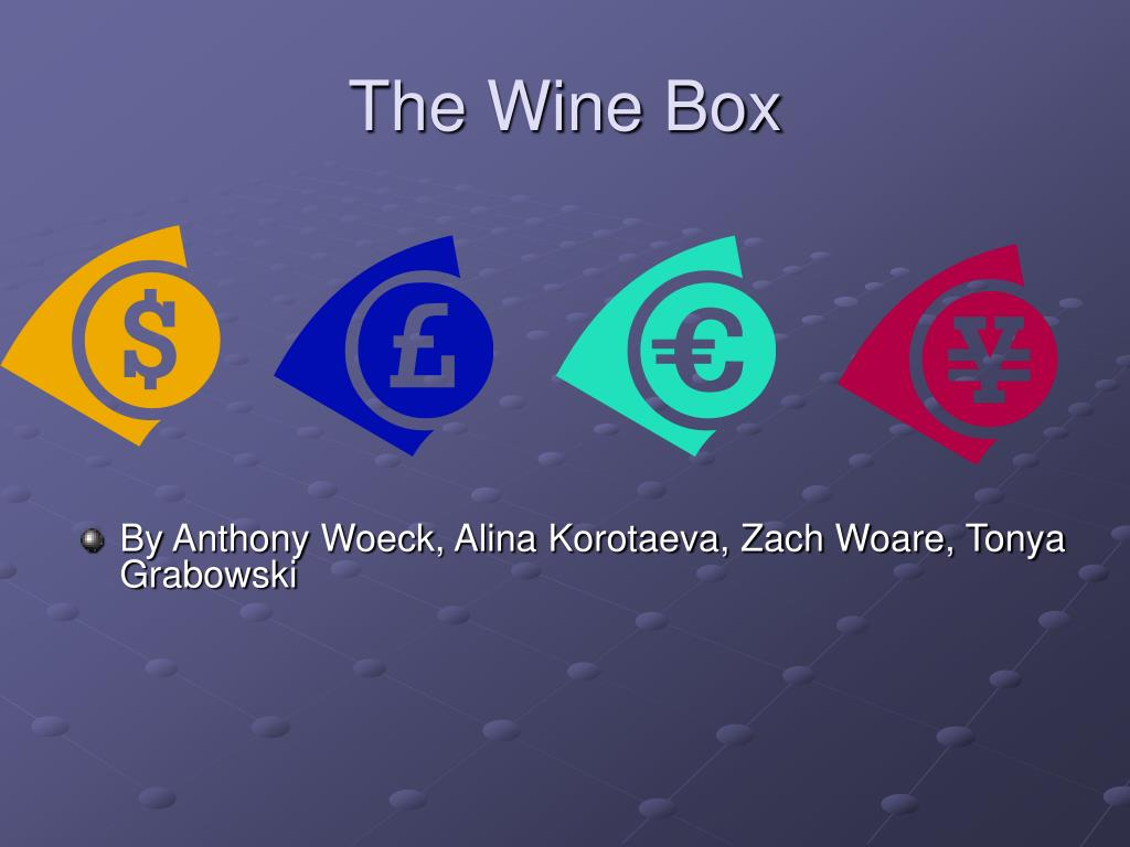 the wine box l.