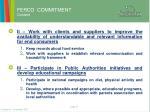 ferco commitment content