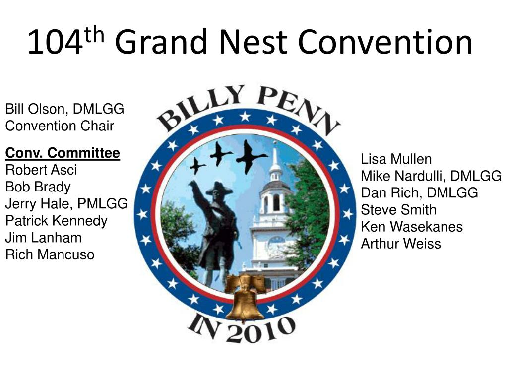 104 th grand nest convention l.