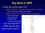 big ideas in npr3