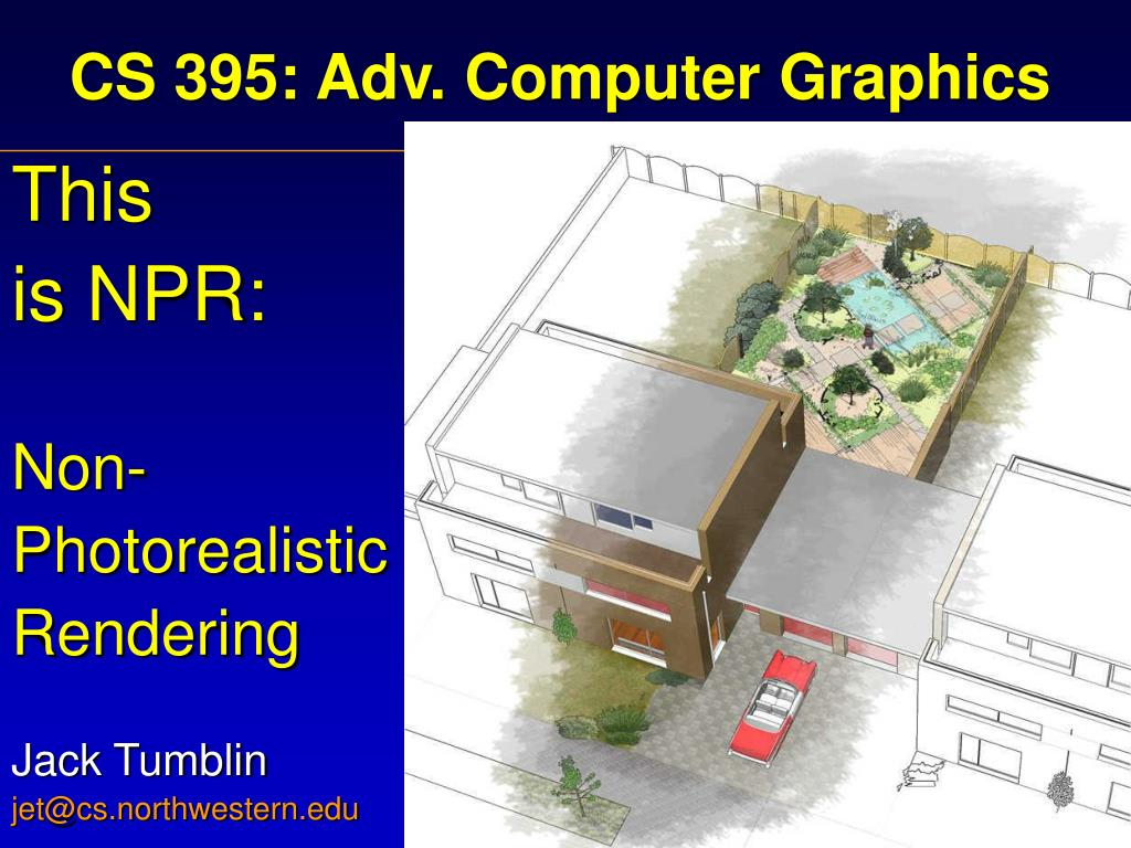 cs 395 adv computer graphics l.
