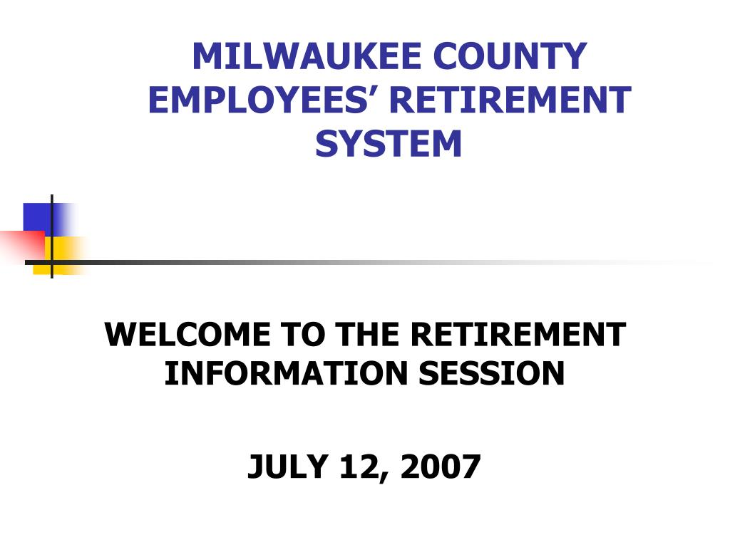 milwaukee county employees retirement system l.