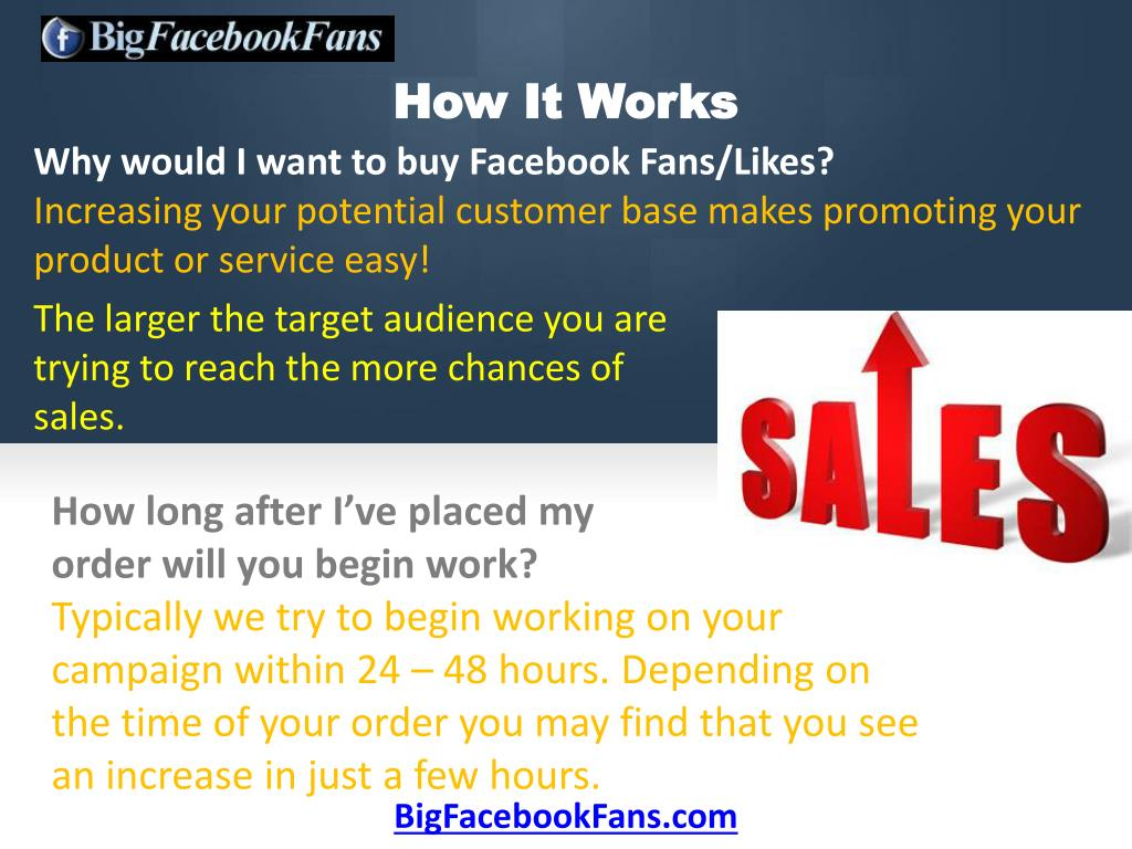 Why would I want to buy Facebook Fans/Likes?