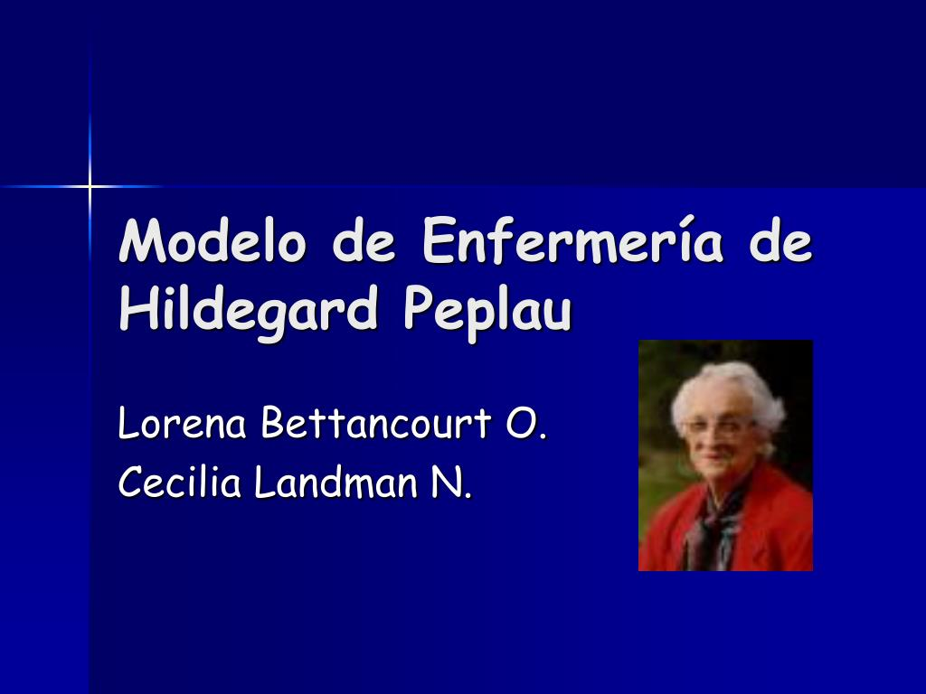 the concept of healing and healthcare according to hildegard peplaus theory of interpersonal relatio A patient-oriented perspective in existential issues: a theoretical argument for applying peplau's interpersonal relation model in healthcare science and practice scandinavian journal of caring sciences, 21(2), 282-288.