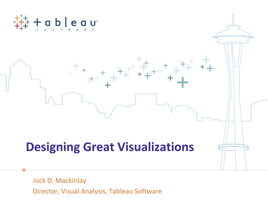 designing great visualizations l.
